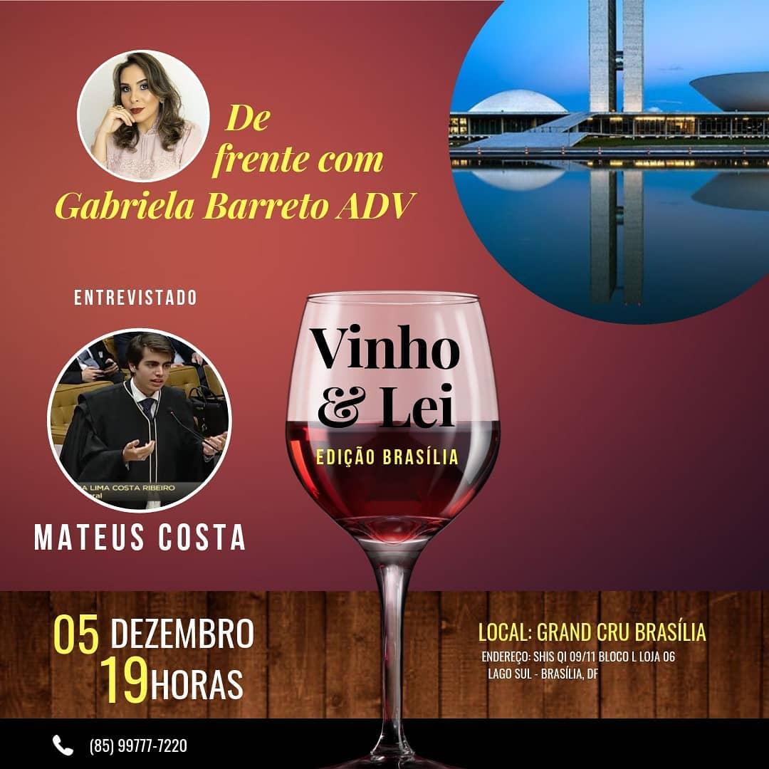 Vinho & Lei Brasília