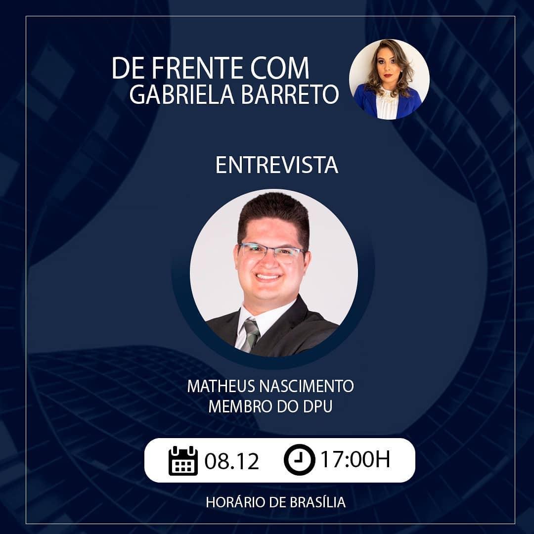 Entrevista com Matheus Nascimento