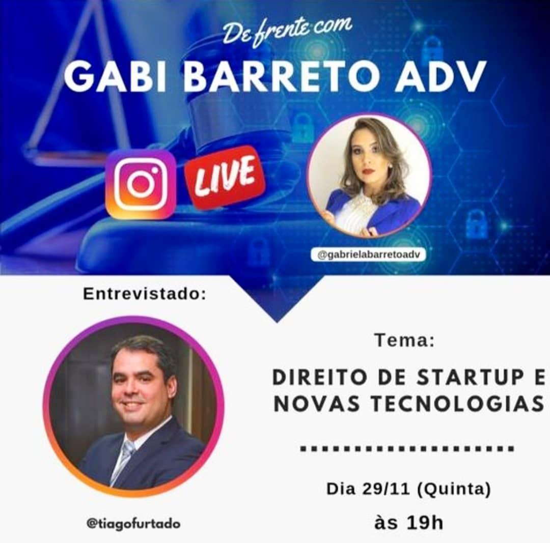 Direito de Startup e Novas Tecnologias com Tiago Furtado
