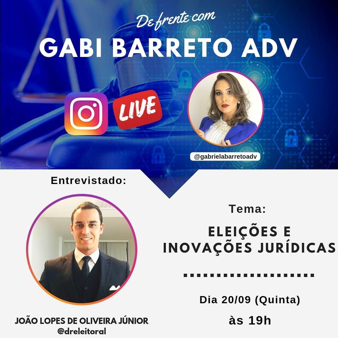 Eleições e Inovações Jurídicas com João Lopes de Oliveira Junior