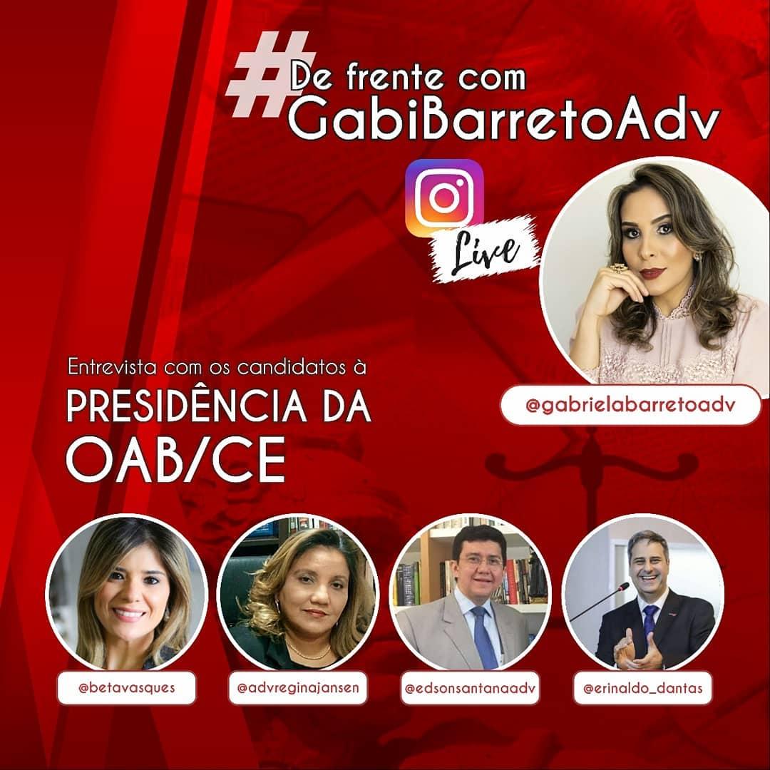 Entrevista com os candidatos à Presidência da OAB/CE