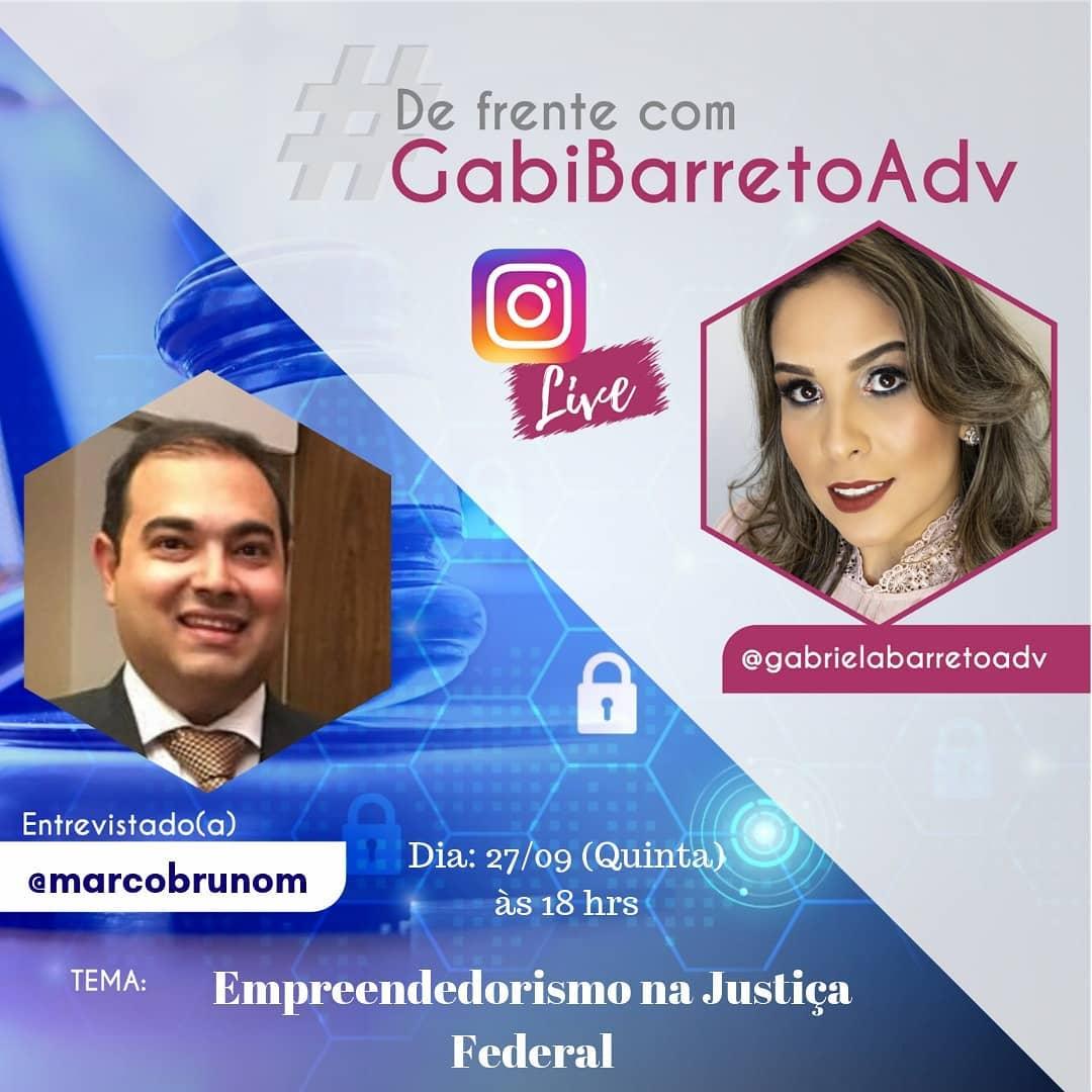 Empreendedorismo na Justiça Federal com Marco Bruno Miranda