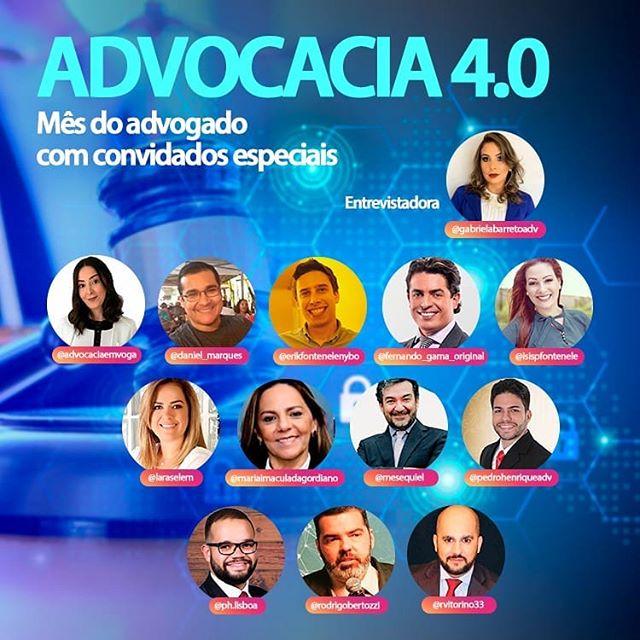 Advocacia 4.0 com Convidados Especiais