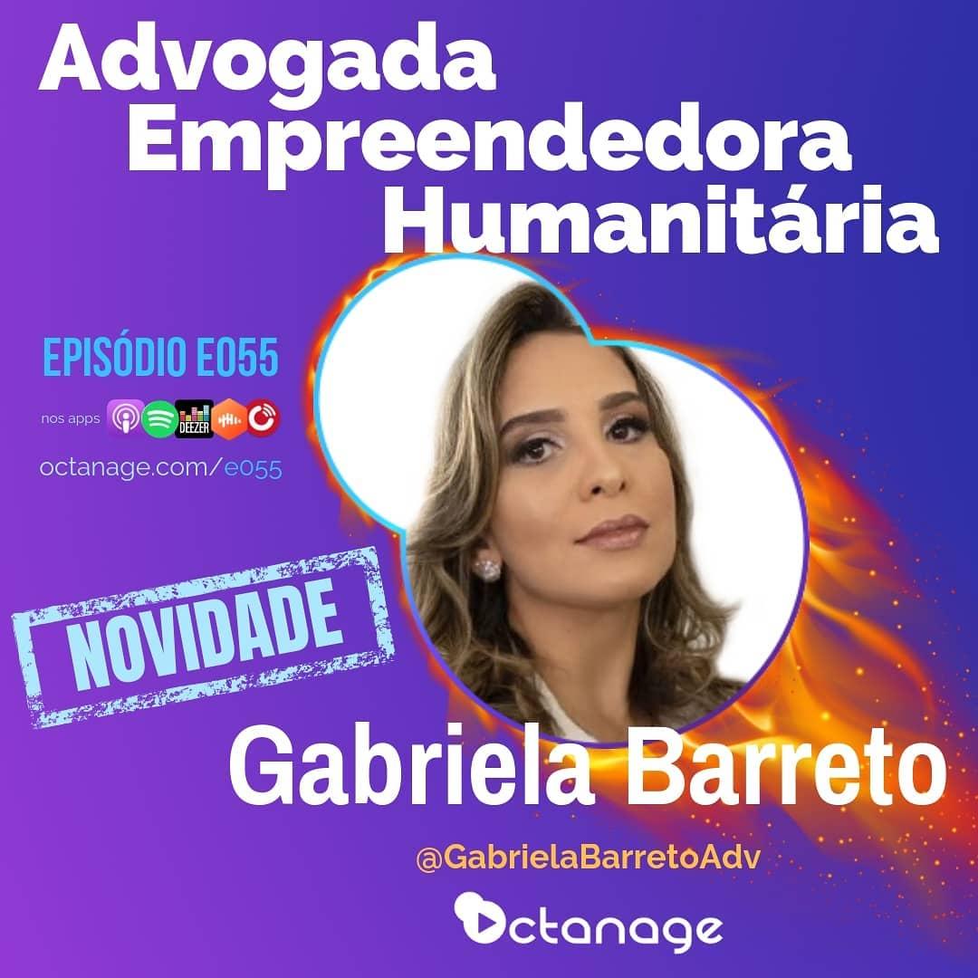 Trajetória da Gabriela Barreto no Empreendedorismo