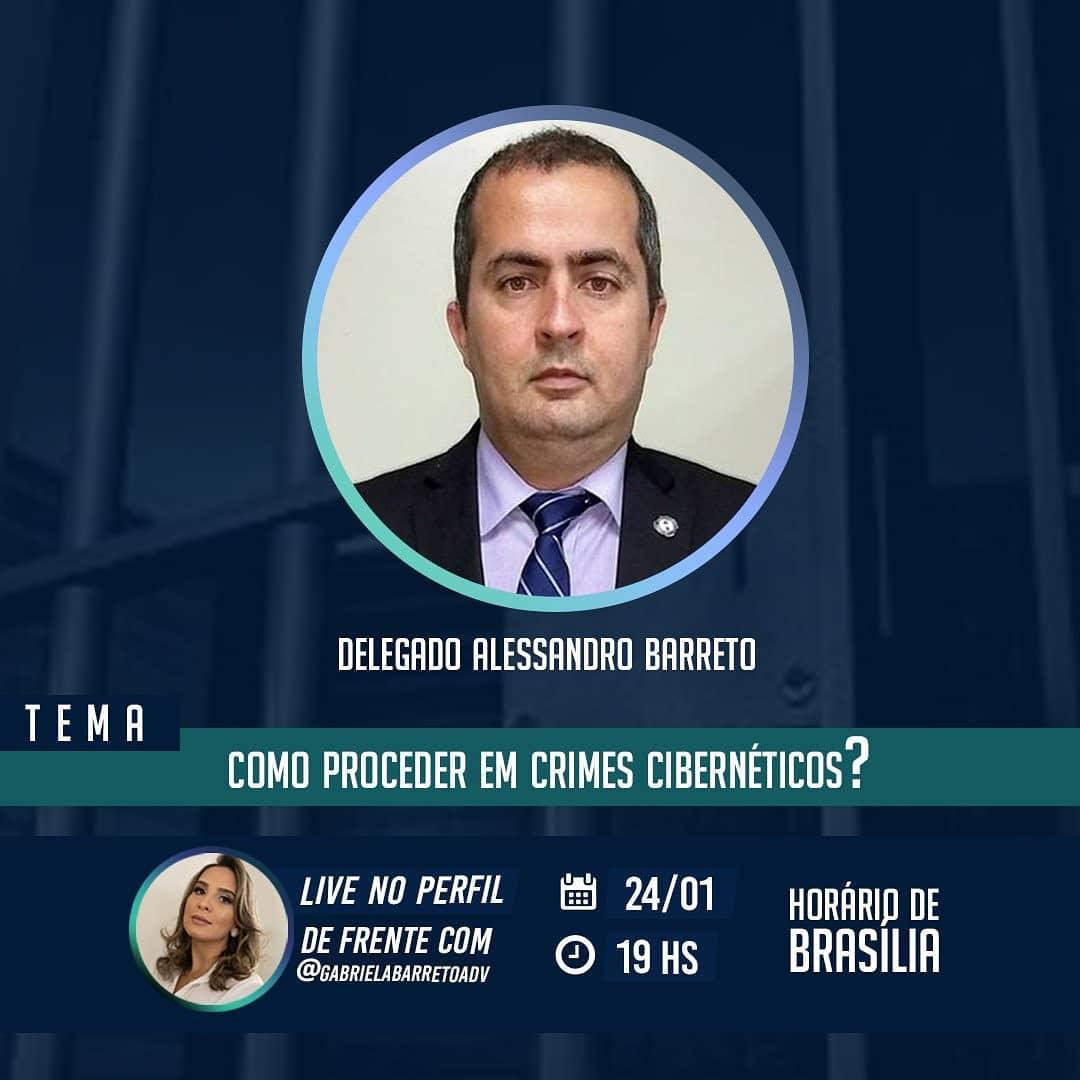 Entrevista com o Delegado Alessandro Barreto