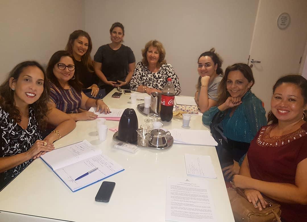 Preparação das Mentoras no Projeto Botão de Rosa