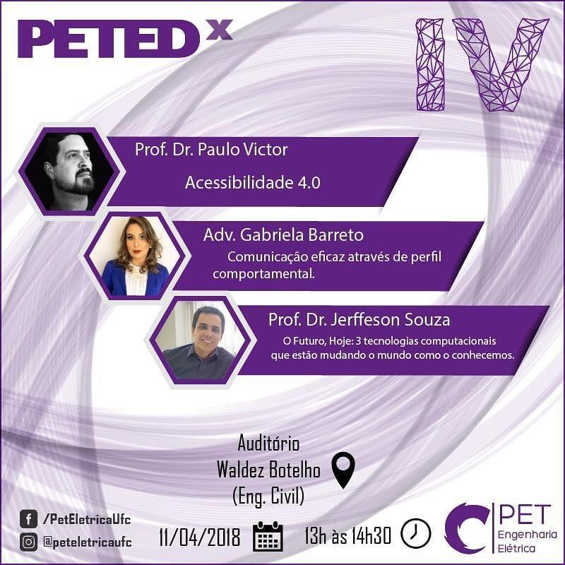 Participação no PETEDx