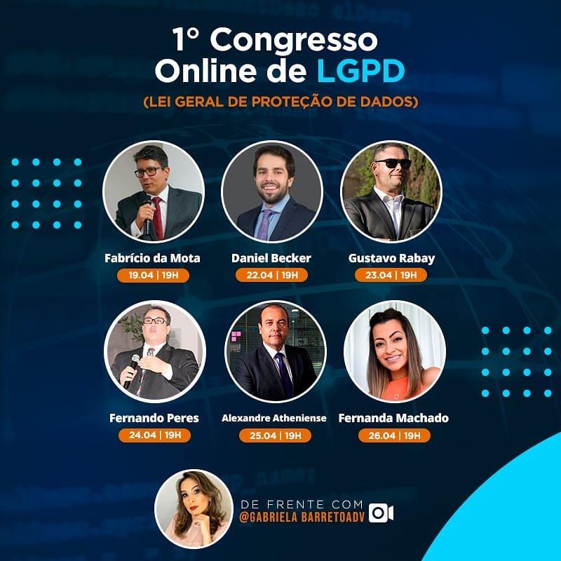 I Congresso Online de Lei Geral de Proteção de Dados