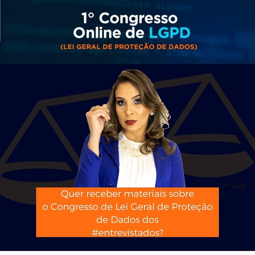 I Congresso Online de LGPD
