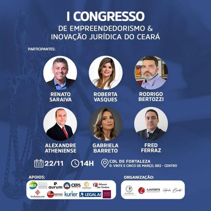 I Congresso de Empreendedorismo e Inovação jurídica do Ceará